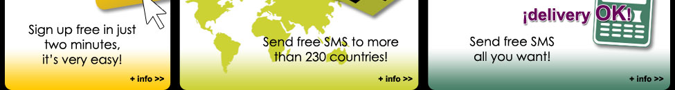Free SMS - Send free sms international with twinSMS